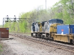 Procedding West with 9050 Trailing