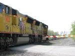 The Foriegn Union Pacific SD70M's Continue West