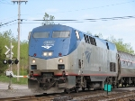 Morning Amtrak Proceeds Toward Buffalo