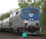Rochester-Bound Amtrak