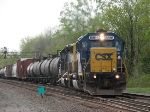 CSX 8866 Cross's Over at CP 382 Well It Carrys Q626