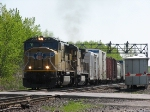 CSX Q626 (With UP Power) Begins Its Journey Once Again
