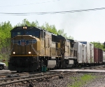 CSX Q626 Begins the Speed Restriction Leaving Traffic Unhappy