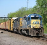 CSX 8406 Blares Threw CP382