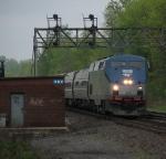Rochester Bound Amtrak 166