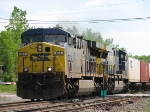 CSX Q117 Gets Underway Again After A Brief Time in Emergancy