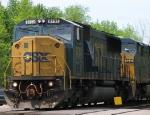 CSX 8732 (Ex-Conrail) Leads a Westbound Intermodel