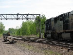 CSX 8732 Greets E824, That Was Held Up By CSX Q117's Emergancy Application