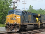CSX Q157 Lead By CSX 651 Going 53 MPH