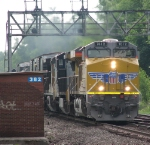 Union Pacific 7612 Leads CSX Q626