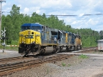 CSX X101 Light Engine Move