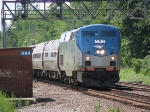 P48 with a Unique Amtrak 107 Clocked at 81 MPH