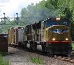 CSX Q390 With Union Pacific Power