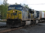 CSX Q109 Lead By a Soon To Be Repainted Into YN3 CW60AC