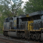 CSX 636 Showing Off the Muscle