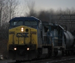 CSX Q632 Works Hard (Note The Ex-Conrail SD40-2 Trailing)