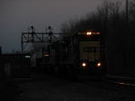 CSX Q380 Carrys Brand New ES44AC's and Night Sets In