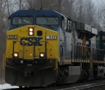 CSX Q109 Had an Easy 108 Axle Day