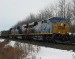 CSX Q626 West Shore Bound with 600+ Axles