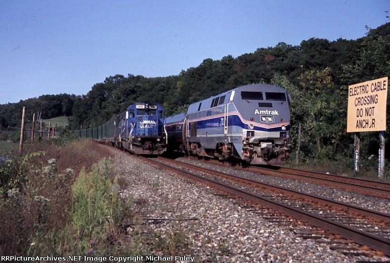 CSX gets overtaken by Amtrak