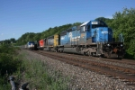 Late Shore Limited meets CSX