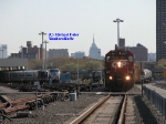 NYC Skyline at Highbridge yard