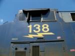 CSX 138 Cabside