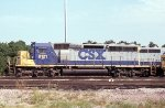 CSX 8121 at the ready track