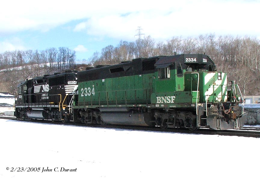 BNSF 2334