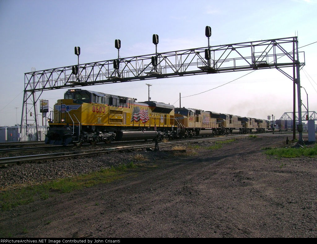 UP 8603 on KG1SE 06
