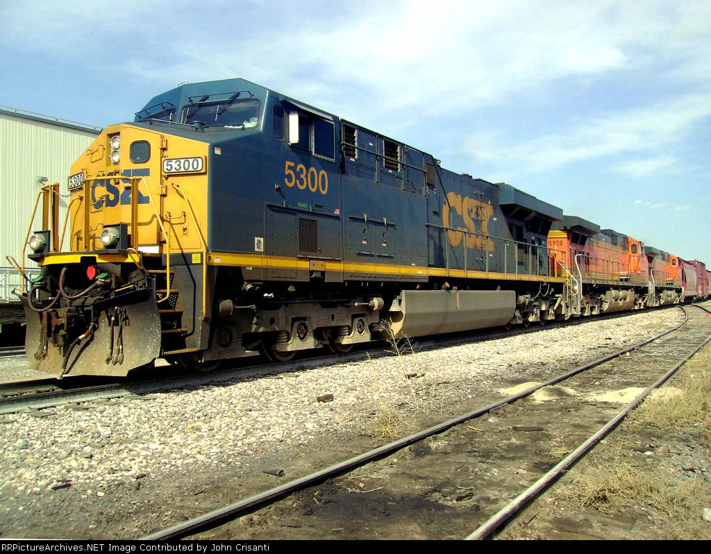 CSX 5300 On Train M-LAUDEN1-19a