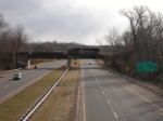 Crossing over Rt 9 Exit 24 Extension