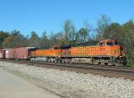 Twin BNSF leaders on CS 197