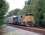 NS 284 with UP SD70ACe leading