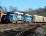 NS 224 with Conrail locomotives