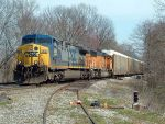 NS 285 with CSX & BNSF power.