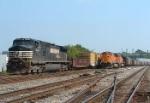 Hurricane Katrina work train
