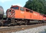 CP Rail SD40-2F 9005 on NS 61N