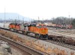 Check out all the BNSF locomotives