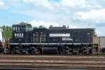 NS 2433 with new frame stripe