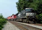 NS 61N with Soo Line & CP Rail power.