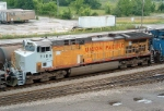 UP 7183 with primer cab