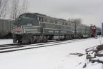 Medina Railroad Museum's E-8s #4080 & #4068