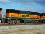 BNSF GP60B unit on NS 143