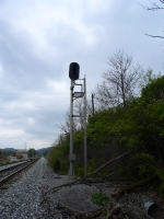 South End of Nichols Signal for Southbound Trains