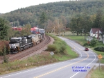 Narrowsburg Curve Eastbound