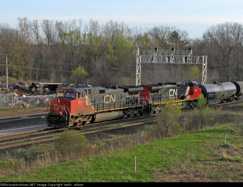 CN 2642 & CN 2695
