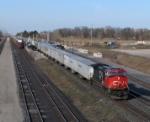 CN 2555 TRIPLE CROWN SERVICE