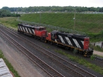 CN 4139 & CN 5419 CHANGING TRACKS