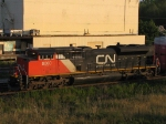 CN 8000 FIRST OF A NEW SERIES